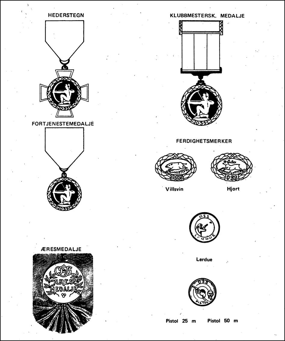 Medaljer&merker