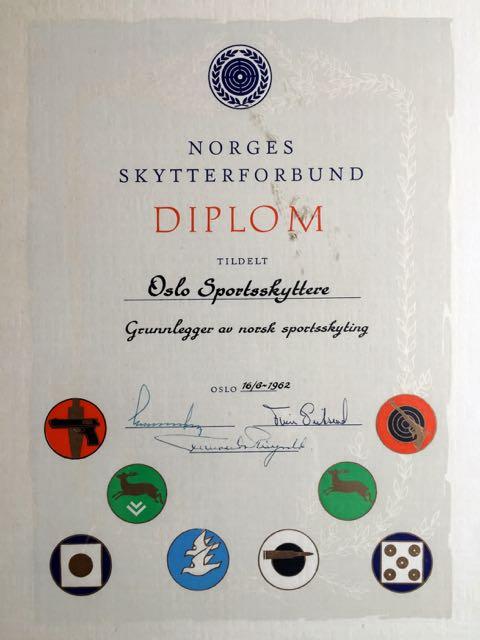 Oslo Sportsskyttere - Stiftet 1912 - Grunnleggeren av sportsskytingen i Norge.