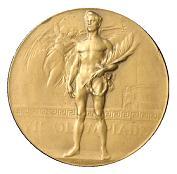 OL-medlajen i gull fra OL i Antwerpen 1920.