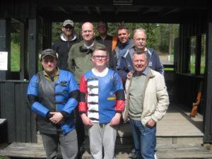 Forran fra venstre: Thomas Sætheråsen, Espen T. Nordsveen, John H. Larsen. Bak fra venstre: Espen Krogstad Tor Fleime, Øivind Selnes, Tommy A. Sørlie og Kato Nordsveen.