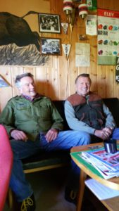 Tore Skau og John H. Larsen