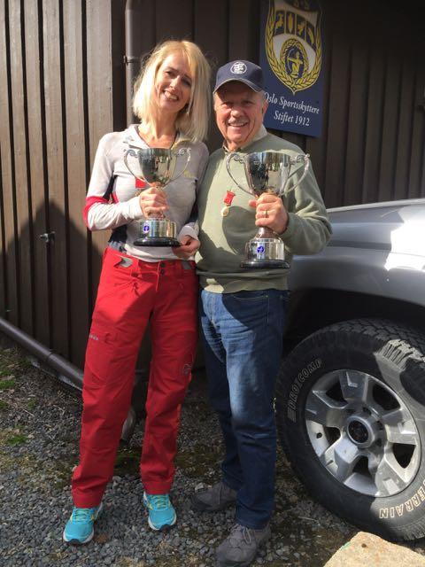 Venke Krangnes og John H. Larsen, Oslo Sportsskyttere