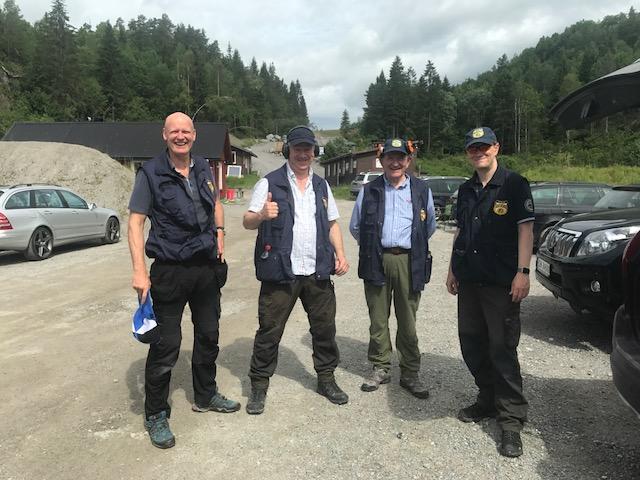 Porsgrunnstevnet: Ivar Årnes med fullt hus i magnum 1 og Arild Waage nr. 2 i fin