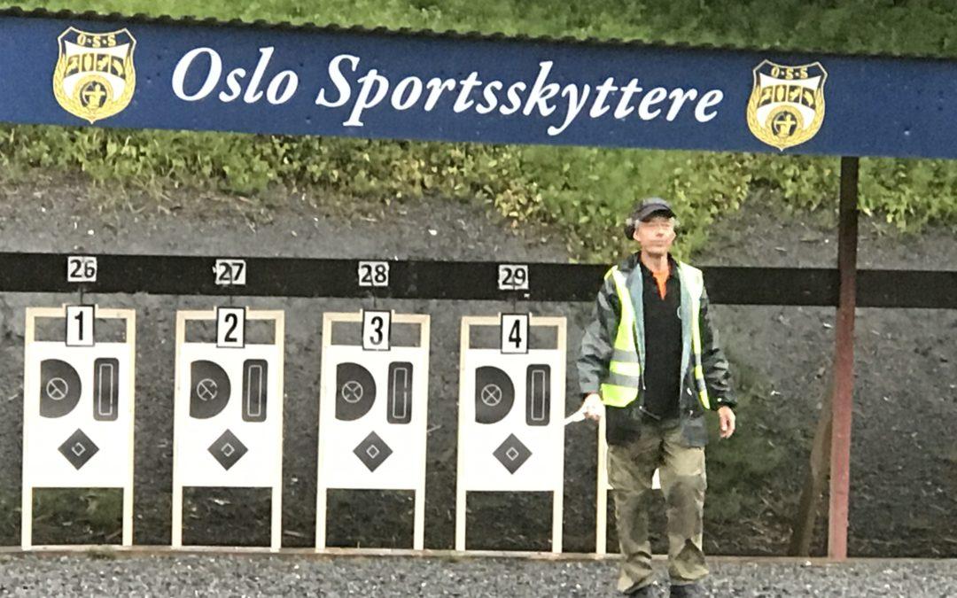 Uttak til Nordisk. Bærum Pistolklubb, Løvenskiold 16.07.17