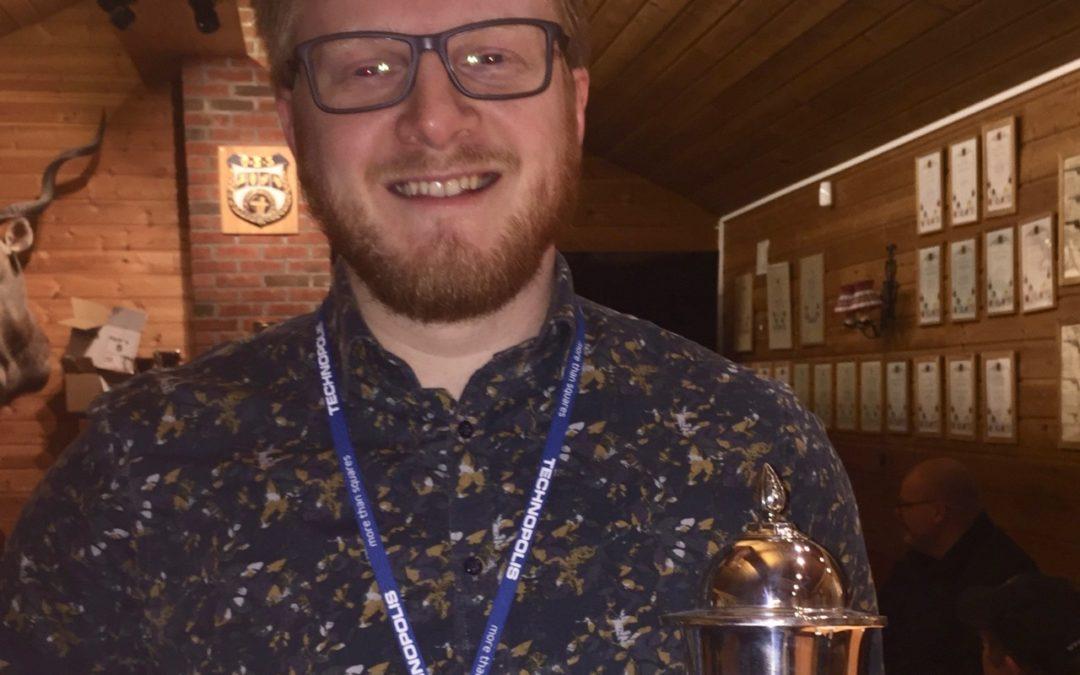Daniel Holter vinner av Tindrepokalen 2018