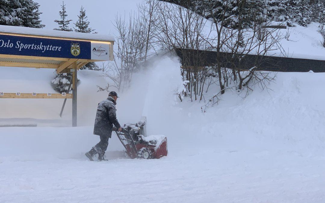 Hva gjør man når sneen er ryddet hjemme?