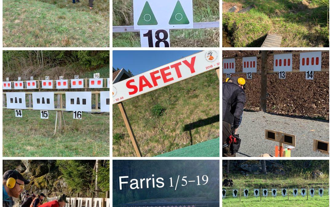 Resultatservice: Farris SS, 1/5-19
