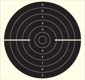 Prøveskyting på pistolbanen onsdag 14.10.20