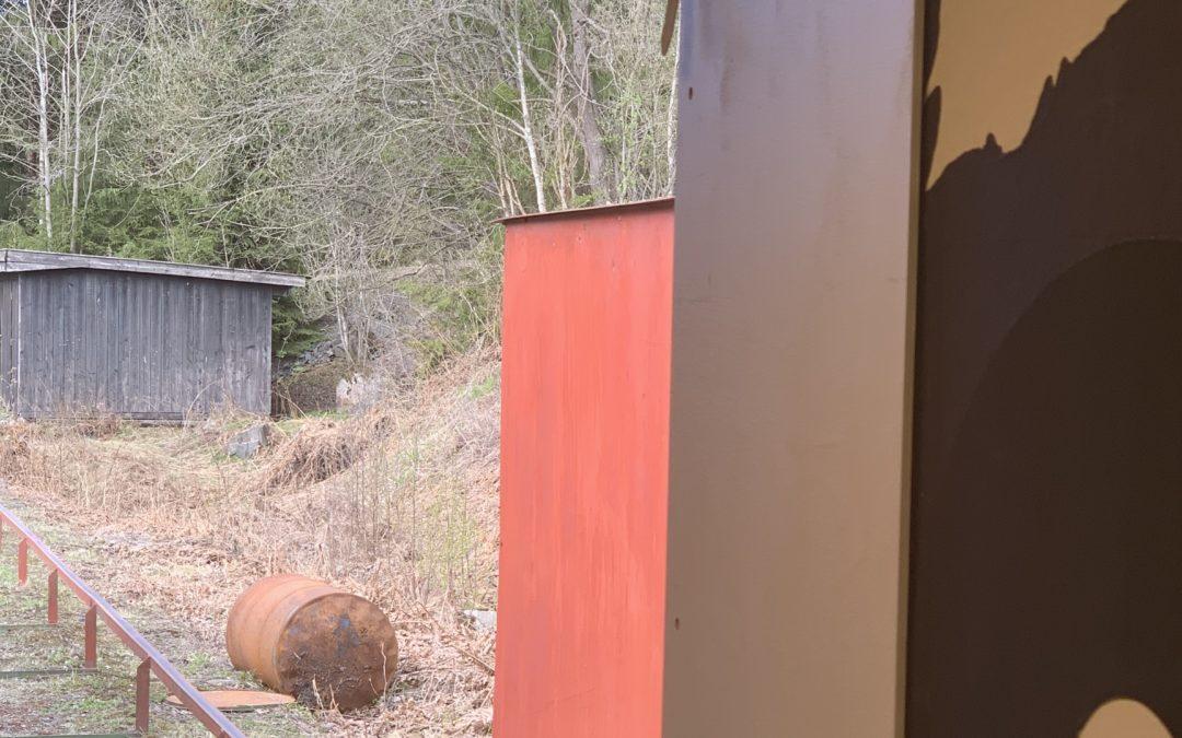 Den offisielle åpningsdagen av hjortebanen gikk på skinner..